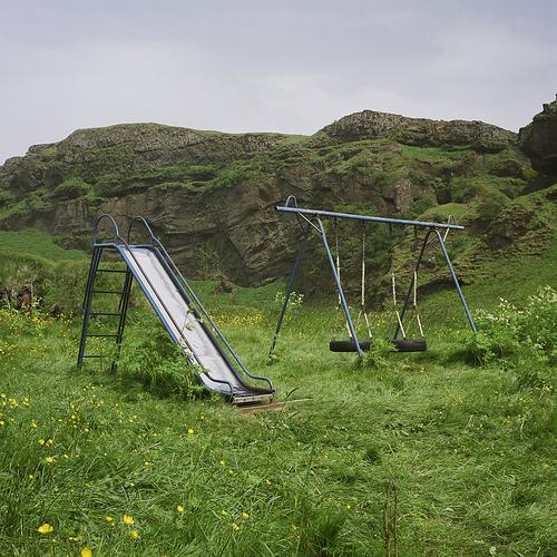 Iceland 01: Slide & Swing Set
